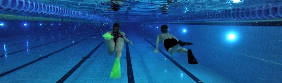 Plaukimas su pelekais